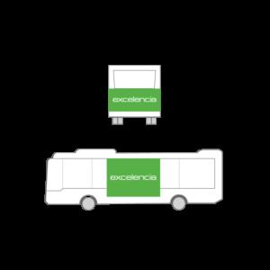Publicidad Autobus Bizkaibus - Gran Lateral