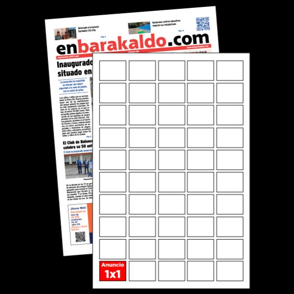 anuncio 1x1 periodico enBarakaldo