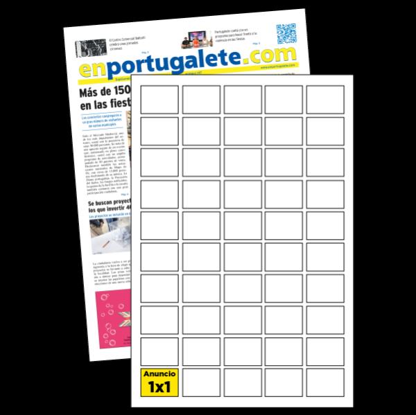 anuncio 1x1 periodico enPortugalete