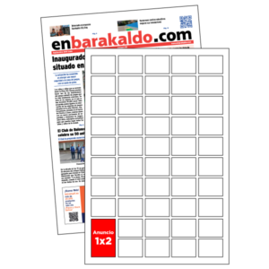 anuncio 1x2 periodico enBarakaldo