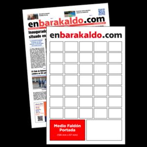 anuncio 2,5x2 Portada periodico enBarakaldo