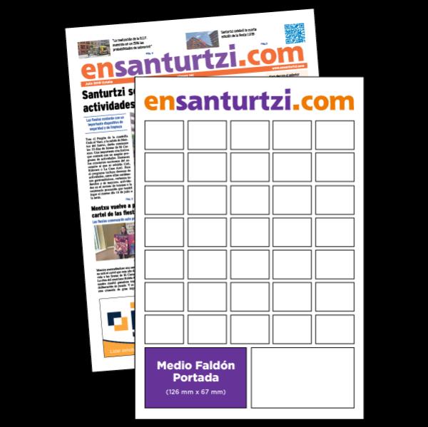 anuncio 2,5x5 Portada periodico enSanturtzi