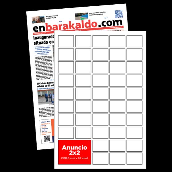 anuncio 2x2 periodico enBarakaldo