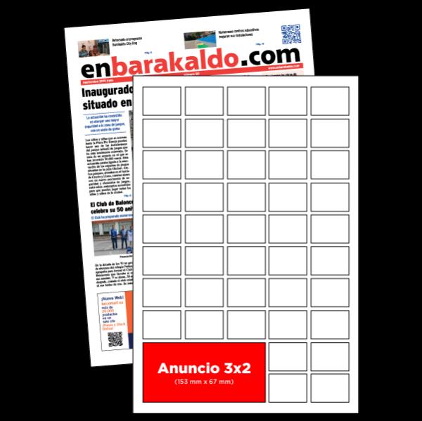 anuncio 3x2 periodico enBarakaldo