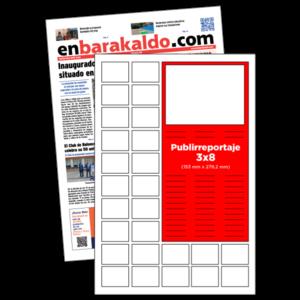 anuncio 3x8 Publirreportaje periodico enBarakaldo