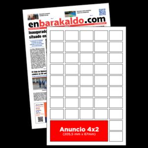 anuncio 4x2 periodico enBarakaldo