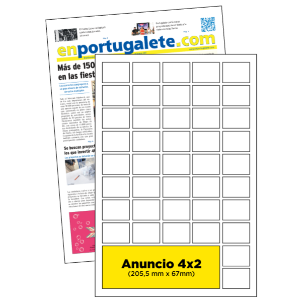 anuncio 4x2 periodico enPortugalete