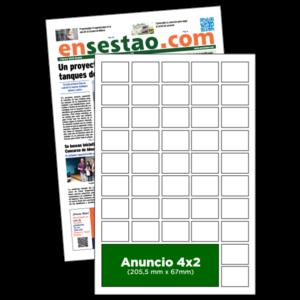 anuncio 4x2 periodico enSestao
