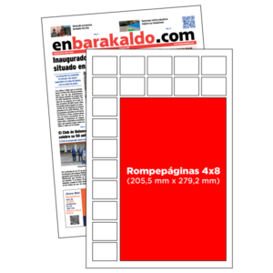 anuncio 4x8 periodico enBarakaldo