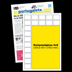 anuncio 4x8 periodico enPortugalete