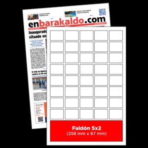 anuncio 5x2 periodico enBarakaldo