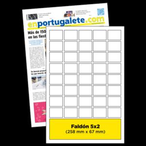 anuncio Portada 5x2 periodico enPortugalete