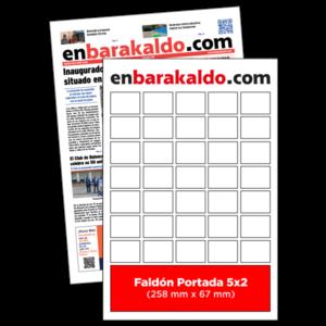 anuncio Portada 5x2 periodico enBarakaldo