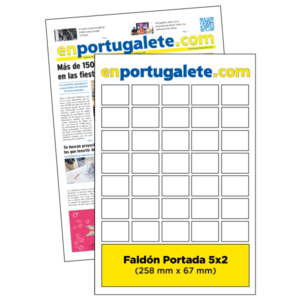 anuncio Portada 5x5 periodico enPortugalete