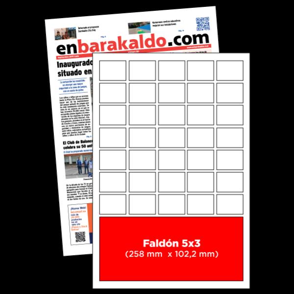 anuncio 5x3 periodico enBarakaldo
