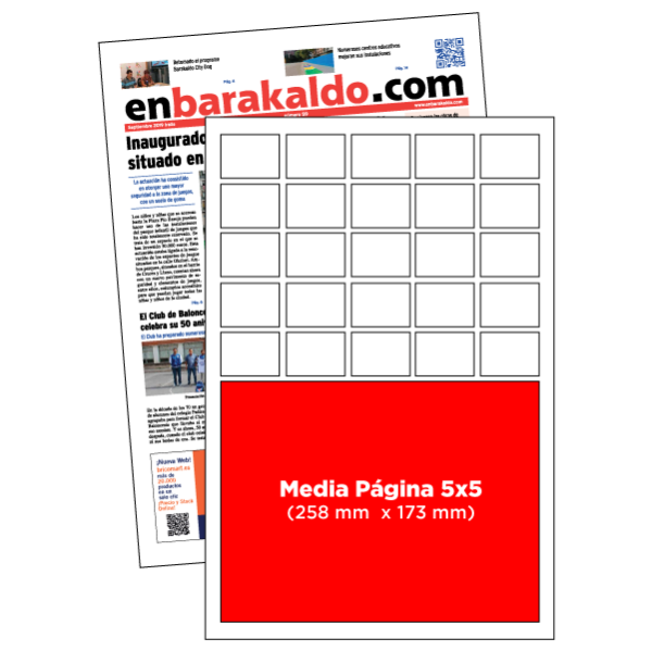 anuncio 5x5 periodico enBarakaldo