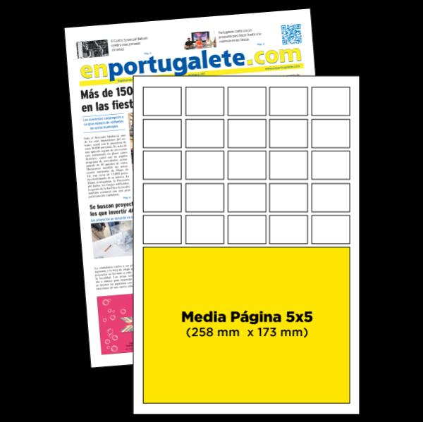 anuncio 5x5 periodico enPortugalete