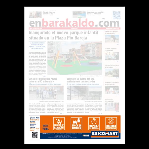 Periodico portada 5x2 enBarakaldo