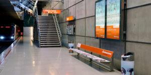 Publicidad Metro Bilbao Acciones Especiales