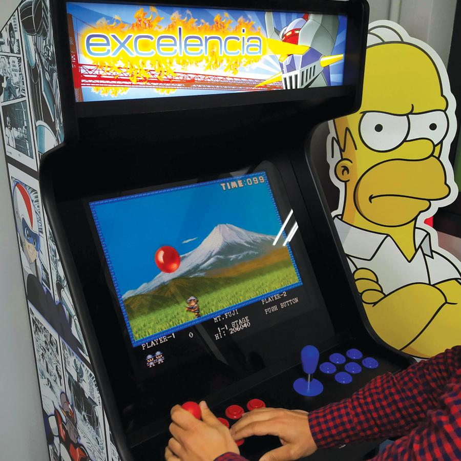 Maquina Arcade Excelencia