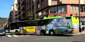 Publicidad Autobus Bilbao Ayto Portugalete