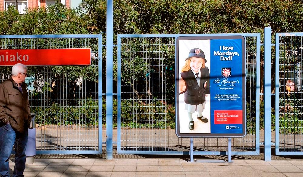 Publicidad Metro Bilbao StGeorge