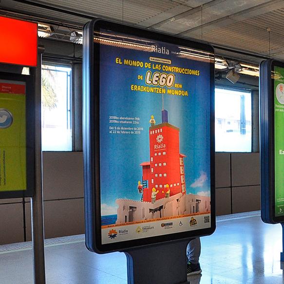 Publicidad Metro Bilbao