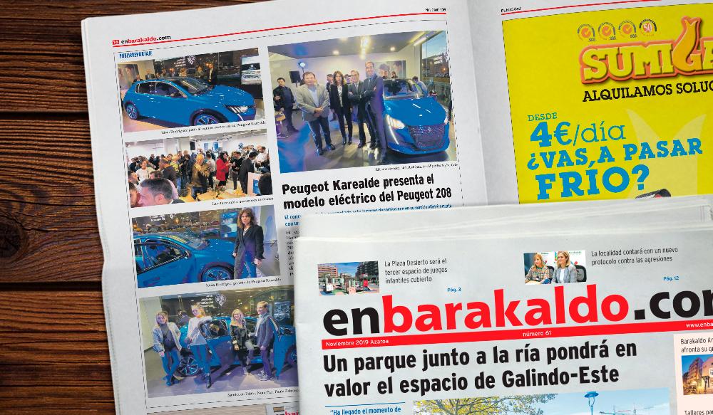 Periodico Local Barakaldo PeugeotKarealde