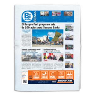 Periódico Bi Aste Bilbao