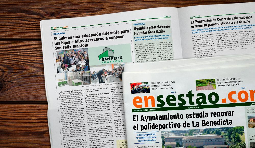 Periodico Local Sestao San Felix