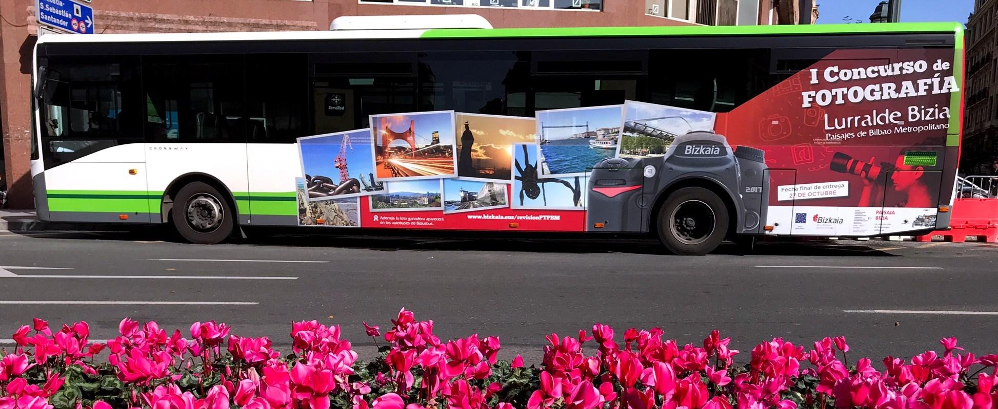 Publicidad Bilbao Autobuses
