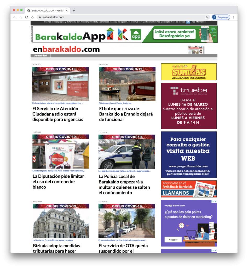 Web Periodico EnBarakaldo