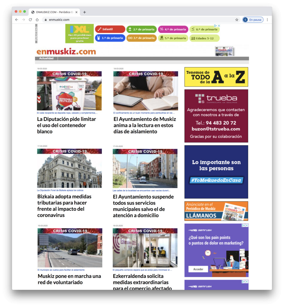 Web Periodico EnMuskiz