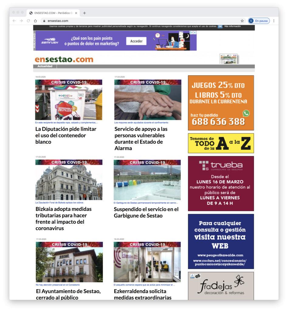 Web Periodico EnSestao
