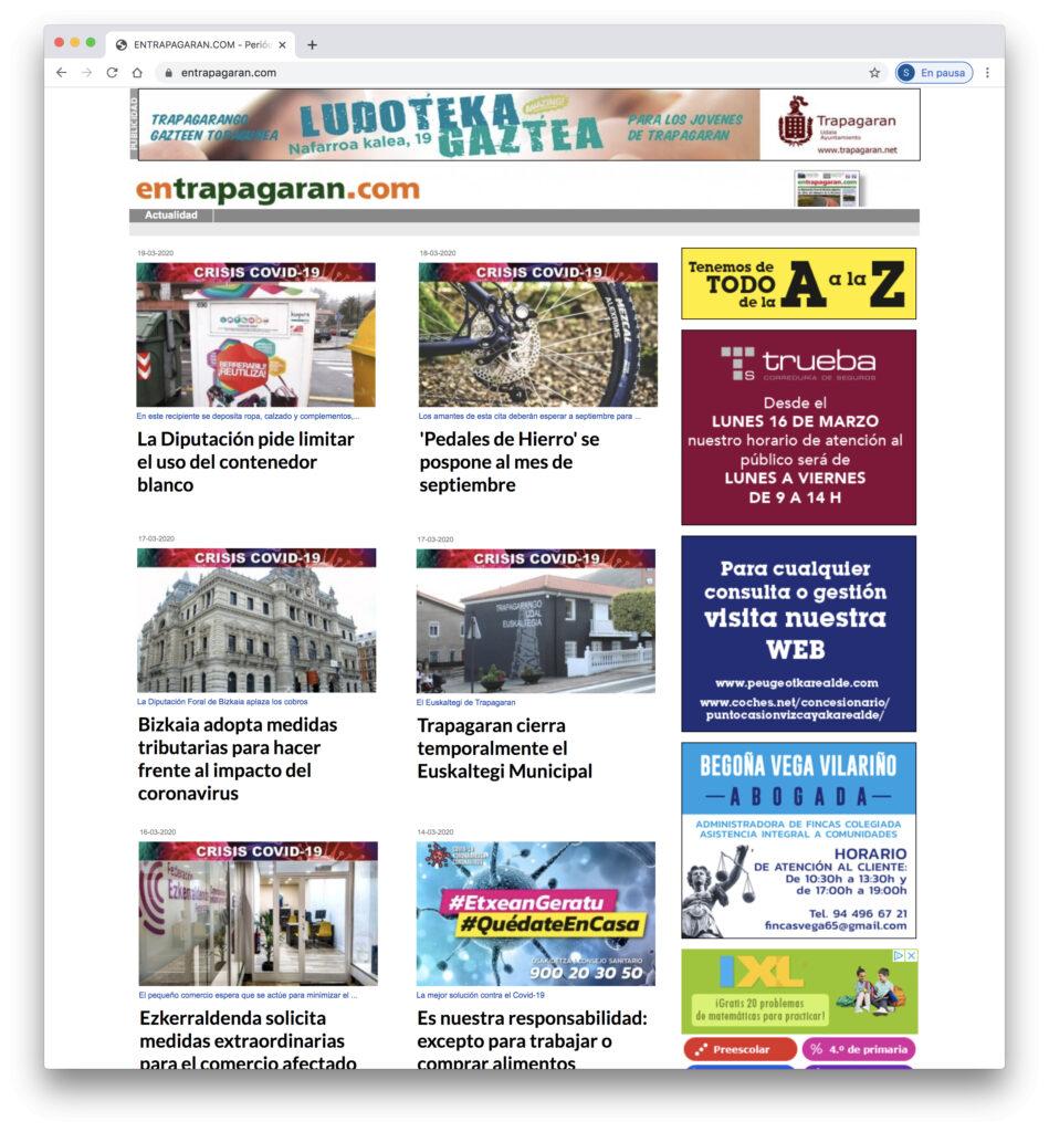 Web Periodico EnTrapagaran