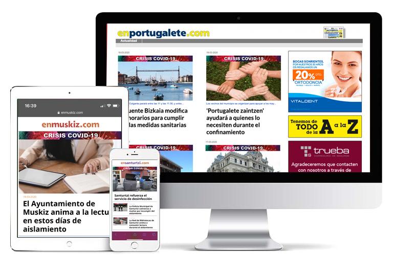 Webs Periodicos Online Bizkaia