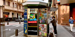 Publicidad Kioskos Bilbao