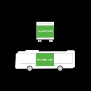 Publicidad Autobus Bizkaibus - Gran Lateral Plus
