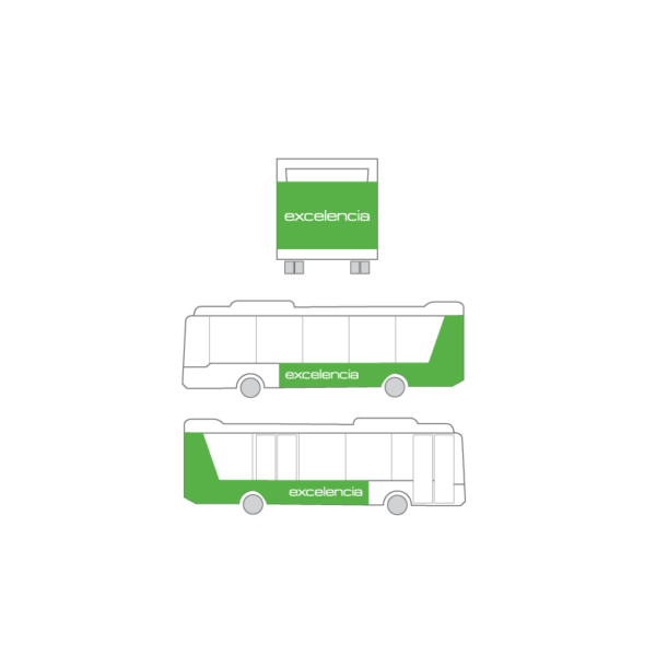 Publicidad Autobus Bizkaibus - Integral
