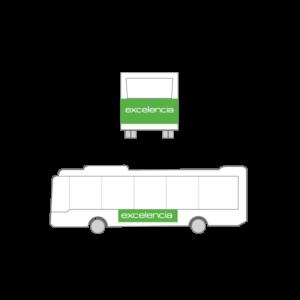 Publicidad Autobus Bizkaibus - Urban