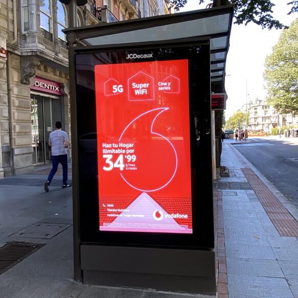 Publicidad Pantallas Bilbao-Eje3