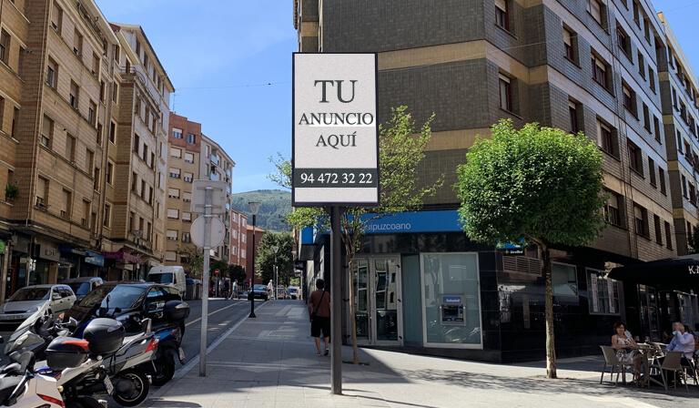 Publicidad Pantallas Digitales Basauri